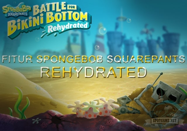 Game Spongebob SquarePants Rehydrated - Spotgame