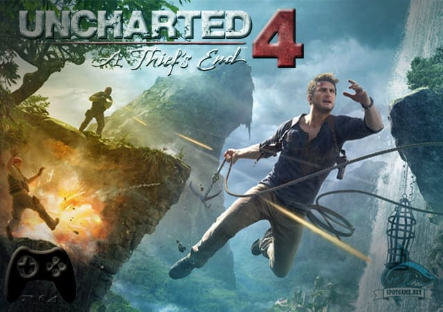 Uncharted 4 A Thiefs End - Spotgame