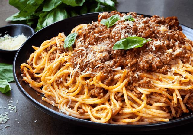 Plato de spaghetti