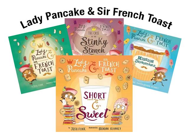 Books Lady Pancake