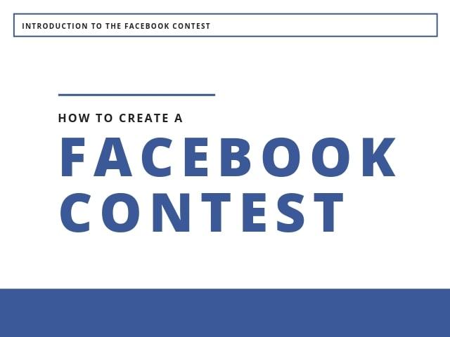 Create a Facebook Contest