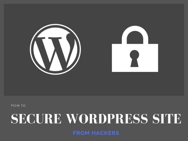 Secure WordPress Site