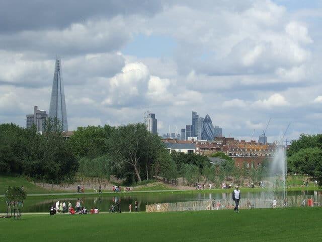 Burgess Park London