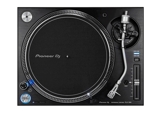 An Excellent direct drive DJ turntable