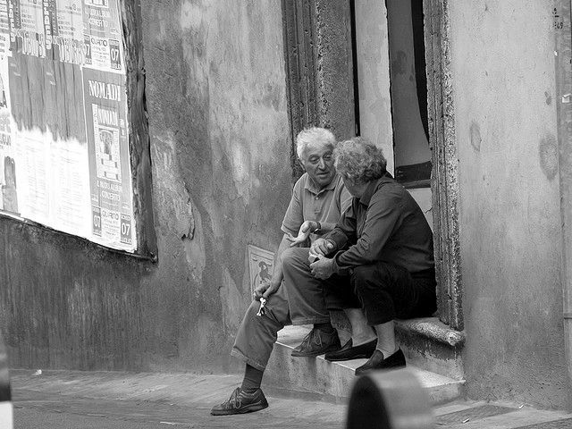Picture: Conversation by timrb. Sourced from Flickr and reproduced under a Creative Commons Attribution-NonCommercial-NoDerivs 2.0 Generic (CC BY-NC-ND 2.0)  licence.
