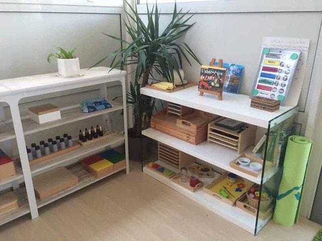 Du matériel Montessori dans une ambiance