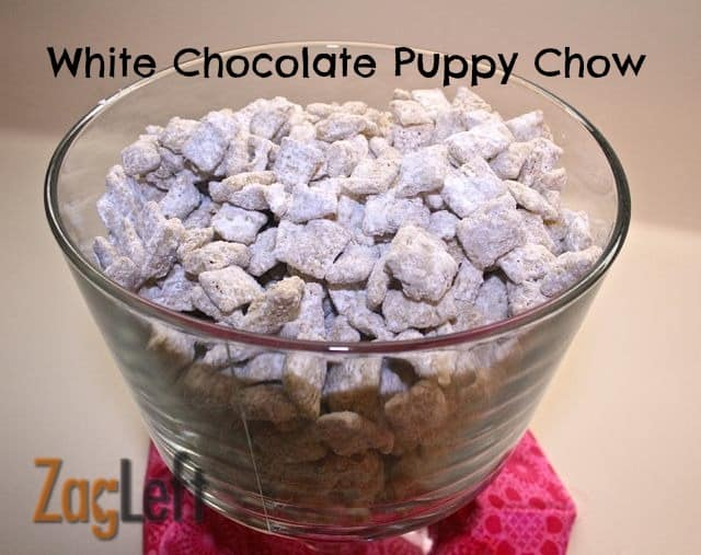 White Chocolate Puppy Chow from Zagleft