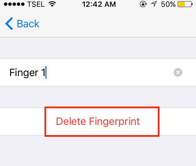 Touch ID not working on iPhone
