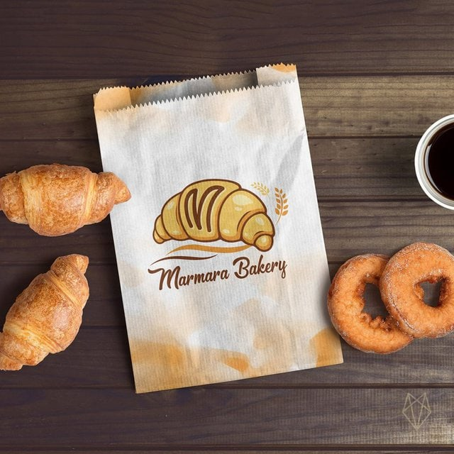 craft pack design for bakery