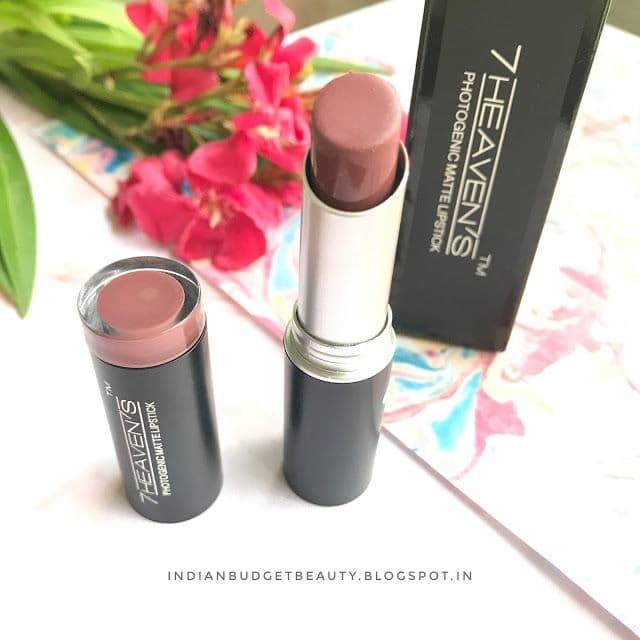 7 Heaven Photogenic Matte Lipstick 302 Kisses Review