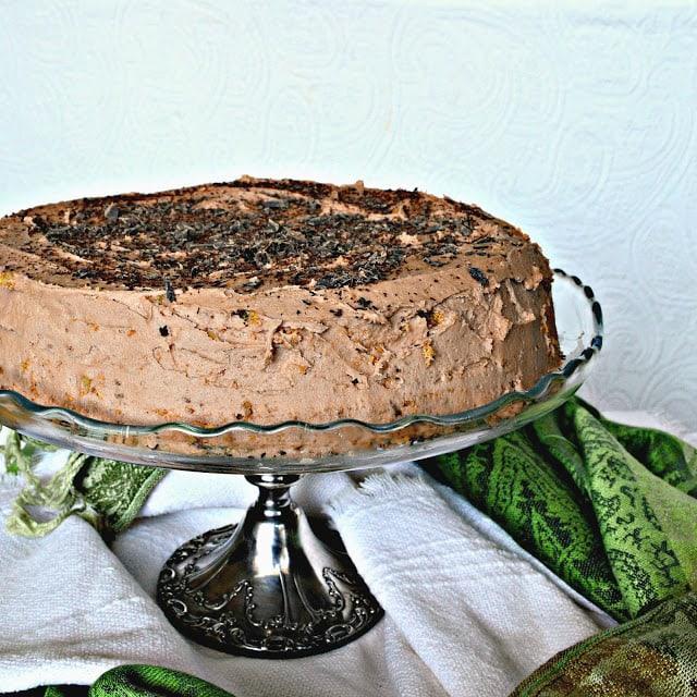 Passover Mocha Nut Cake