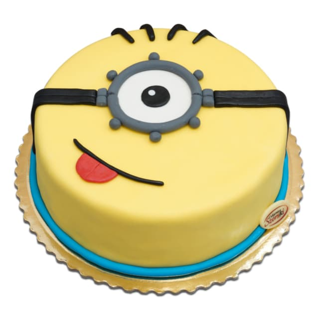 Tort Minionek
