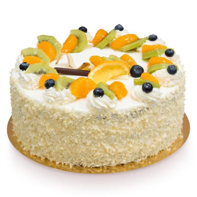 Malutki tort mandarynkami ostrów wielkopolski