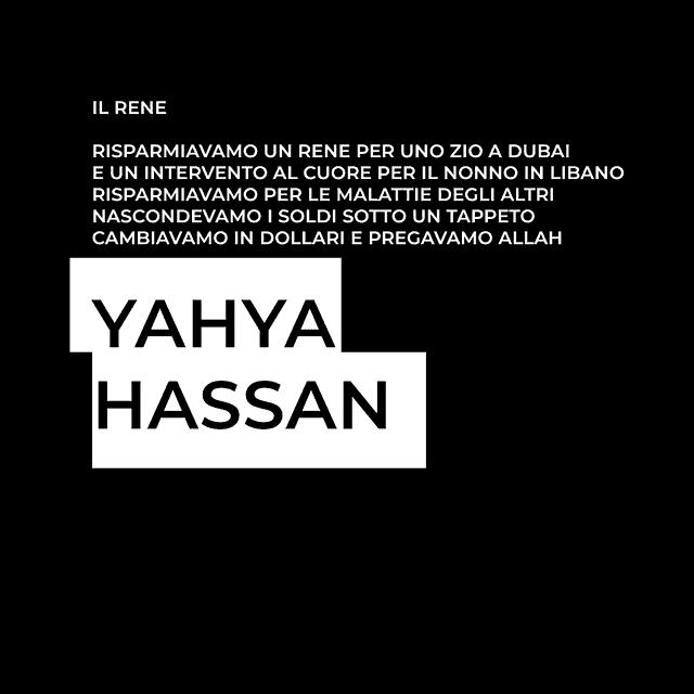 yahya hassan, palestina, poeti, danimarca, rizzoli, 2013, il rene, morte