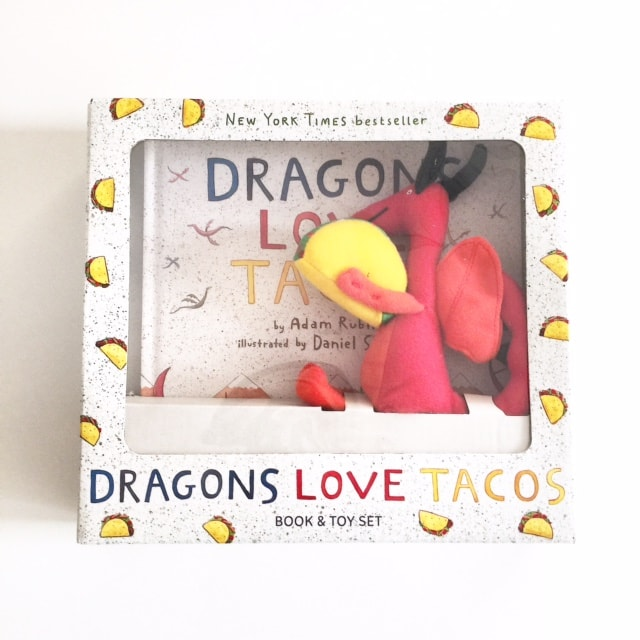 Dragons Love Tacos Toy Book Set