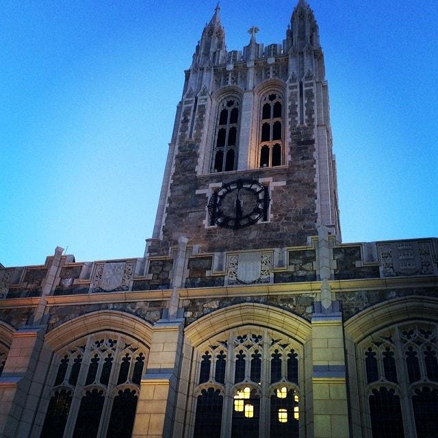 Boston College Gasson Hall