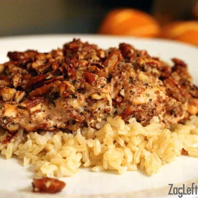 Parmesan Pecan Crusted Salmon | ZagLeft