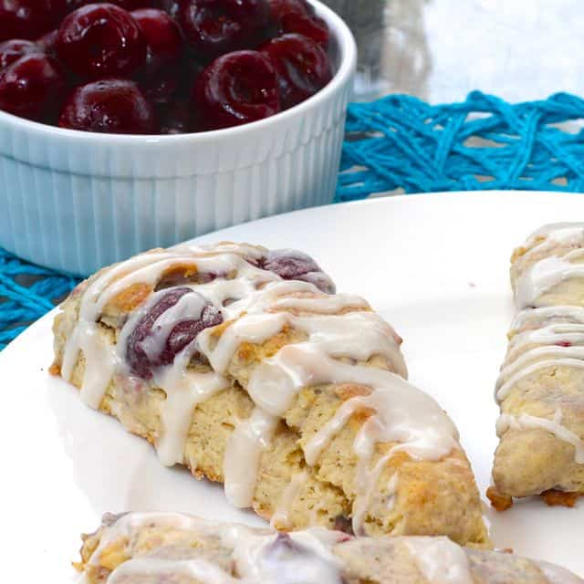 Cherry Macadamia Nut Scones - FN