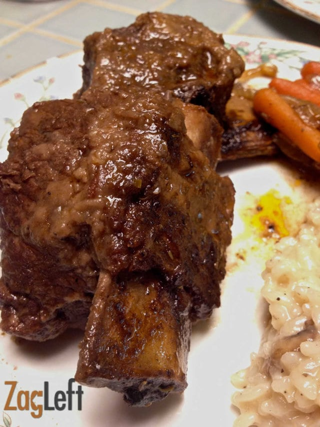 Braised Short Ribs With Carrots And Fennel - ZagLeft