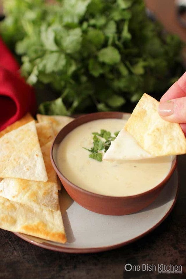 White Queso | One Dish Kitchen
