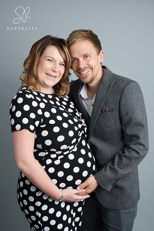 Maternity Photos Leicester - couple photo