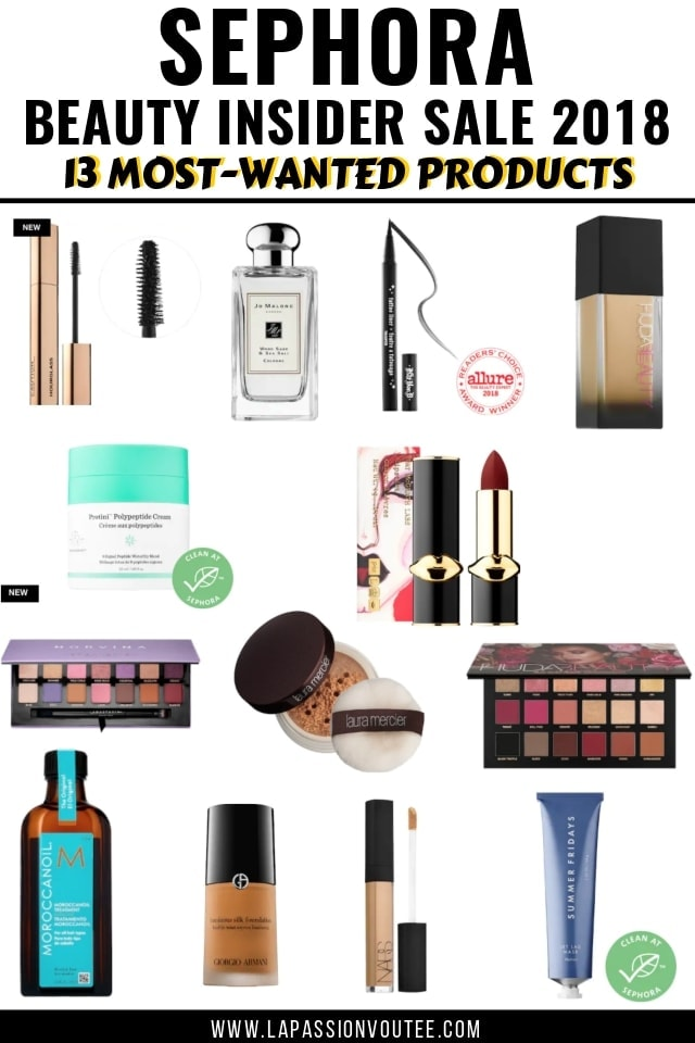 All the details about the most wanted Sephora Beauty Insider Appreciation Event 2018 products. Major savings on top brands like Fenty Beauty, Huda Beauty, Laura Mercier, Drunk Elephant and more! I've rounded up the best front-runners from Sephora Beauty Sale with direct links to shop each item with your coupon code. Open for sale details!