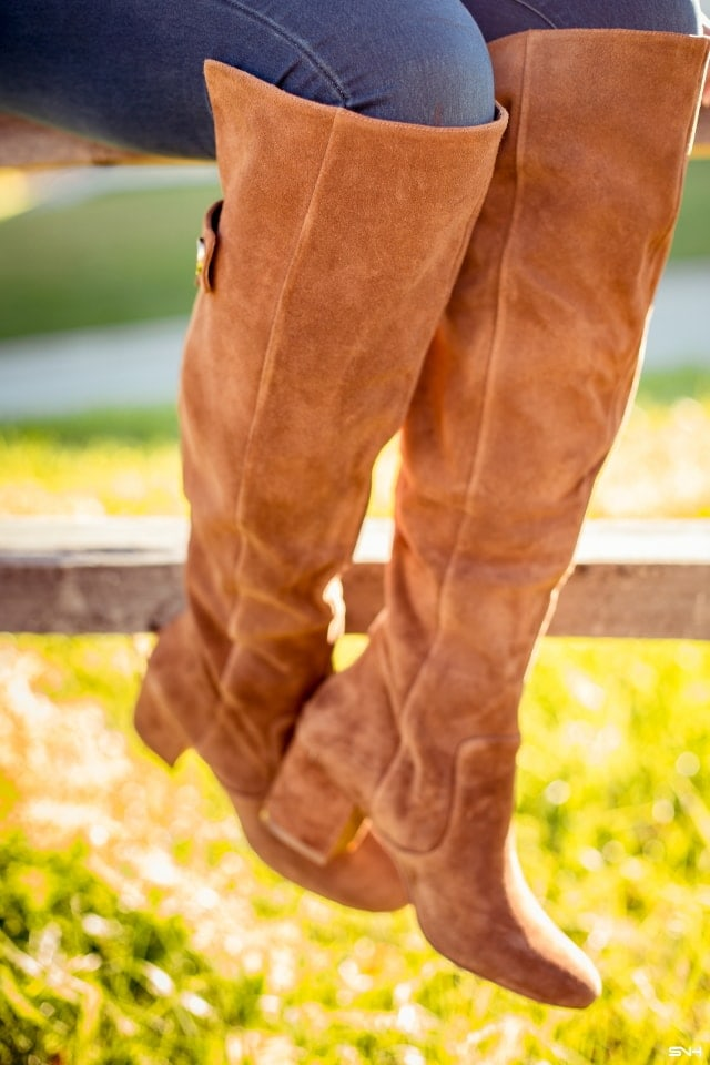 Affordable over the knee boots that is versatile and stylish