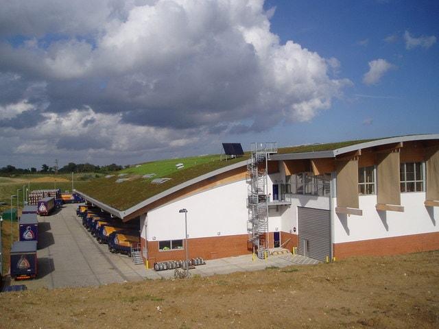 Adnams Brewery- budynek z konopi