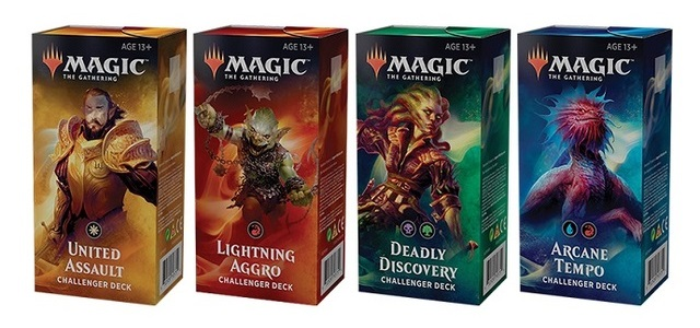 Which of MTG Challenger Decks to Buy in 2019 all decks