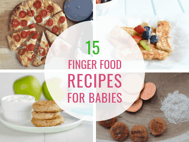 15 Nutritious Finger Food Recipes for Your Baby