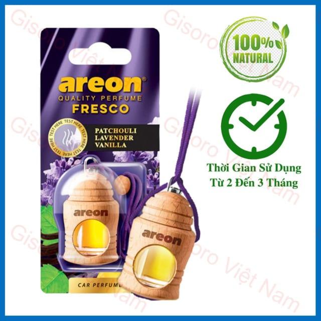 Tinh dầu treo Areon hương Patchouli - Lavender - Vanilla