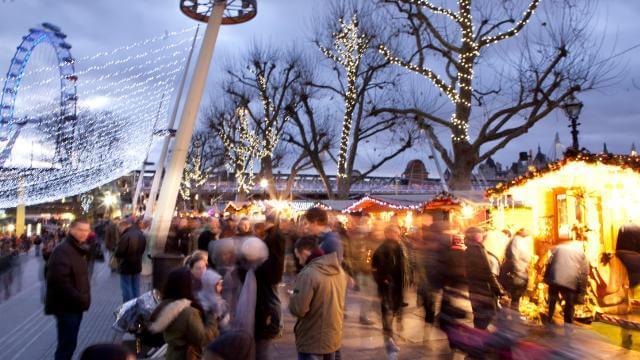 Southbank Centres Winter Market