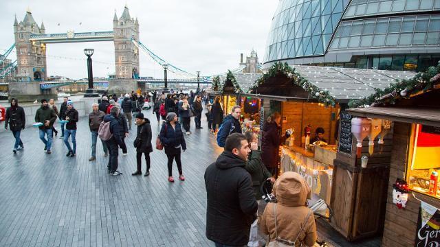 London Bridge City's Riverside Market