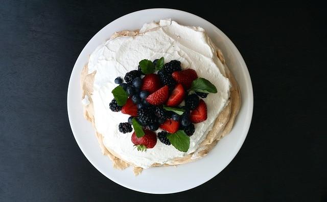 Pavlova Australian food slang