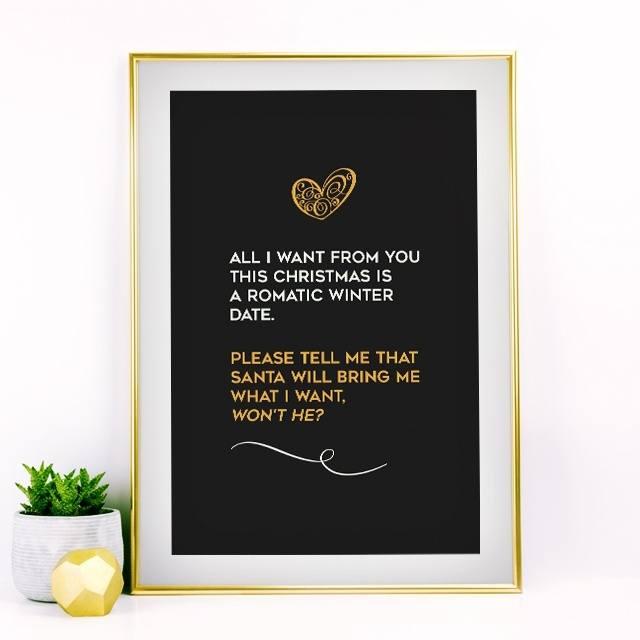 A Romantic Winter Date Quote