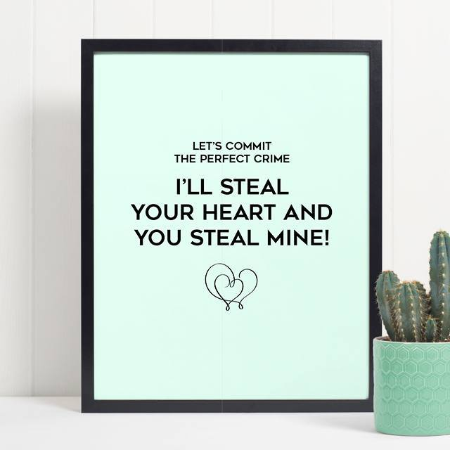 Funny Long Distance Relationship quote about The Perfect Crime