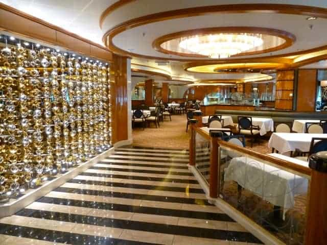 Concerto Dining Room on The Regal Princess