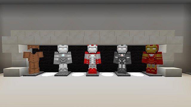 Iron Man 2 Texture Resource Pack 2.1 Minecraft 3