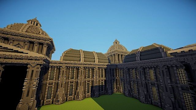 The Grey Palace minecraft building 8