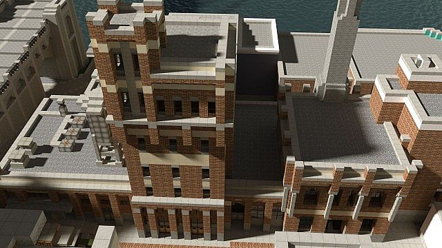 Chebucto City Series  Bellingham Brewery minecraft building 2