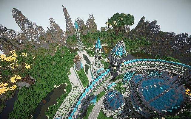 The Halo Of Transcendence minecraft building ideas castle 4