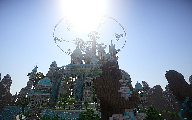 The Halo Of Transcendence minecraft building ideas castle 9