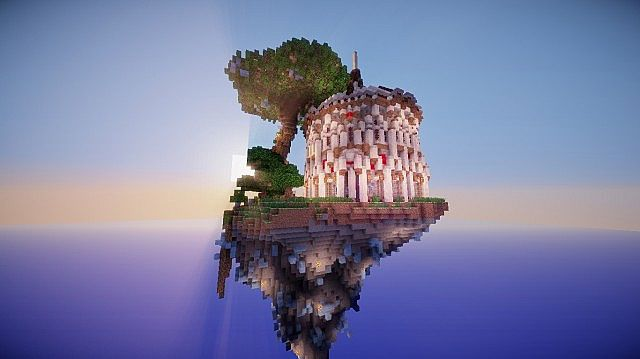 Aedis Floating Temple Minecraft builing ideas 2