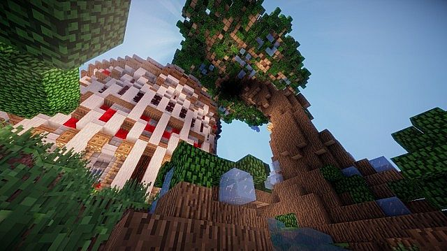 Aedis Floating Temple Minecraft builing ideas 5