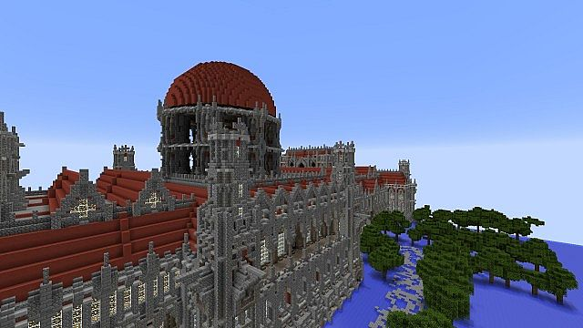 Ceretien Palace Minecraft castle 5