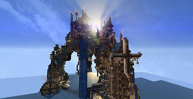 Mechanic City minecraft building ideas