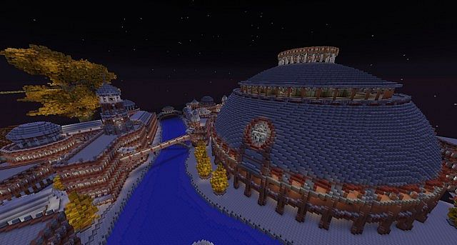 The Red City Irroth minecraft building ideas 7