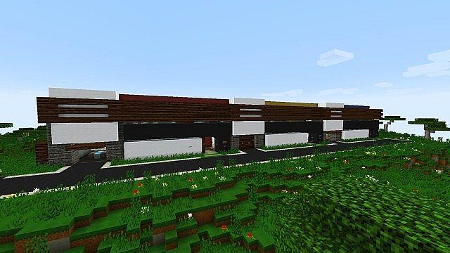 De Stijl 3 Suburban Alluvium Modern Seaside Townhouses minecraft 2
