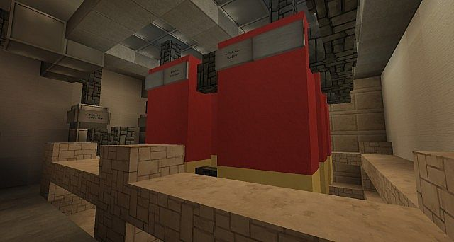 Ironhurst Elementary School minecraft building 11