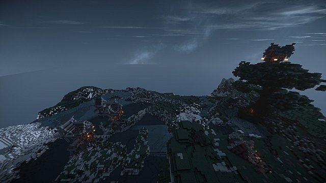 Eulias Steampunk Hideaway minecraft tower build 8